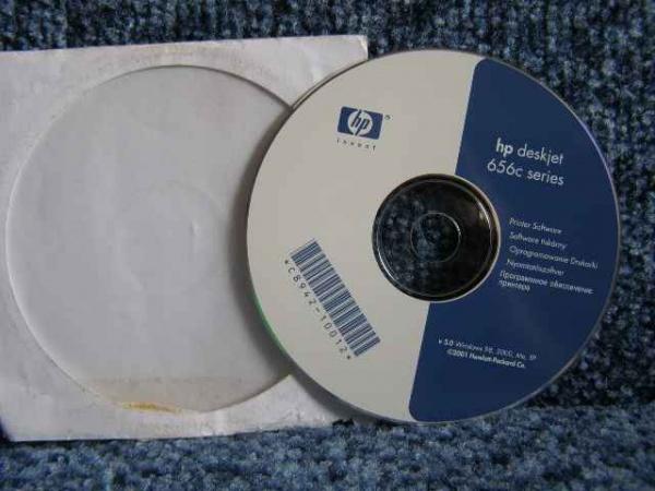 установочный диск принтера