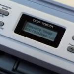 Как сбросить счетчик на принтере Brother