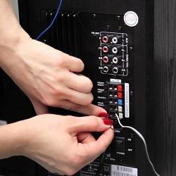 Подключение акустики к телевизору
