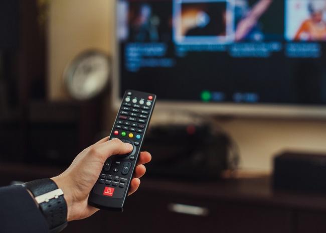 Включение телевизора пультом