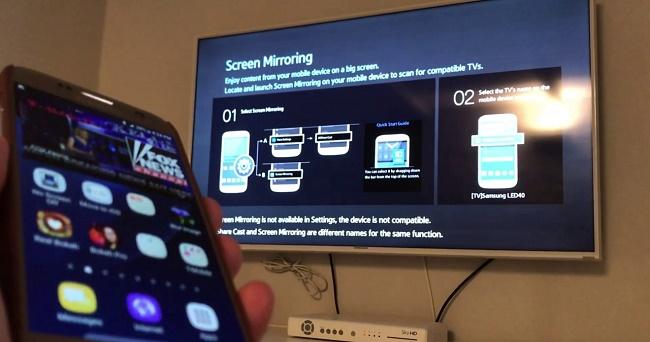 Синхронизация с телевизором LG