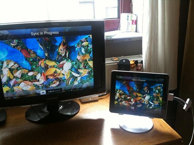 Телевизор из монитора и планшета