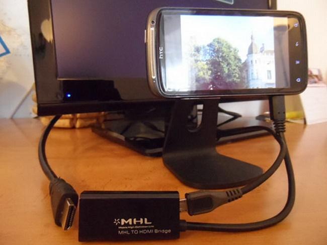 Подключение смартфона к монитору