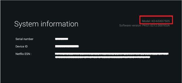 Системная информация