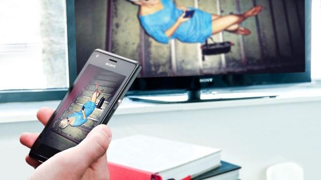 Синхронизация смартфона и телевизора