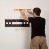 Оптимальная высота установки телевизора на стену