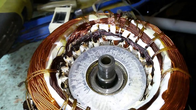 Обмотка компрессора