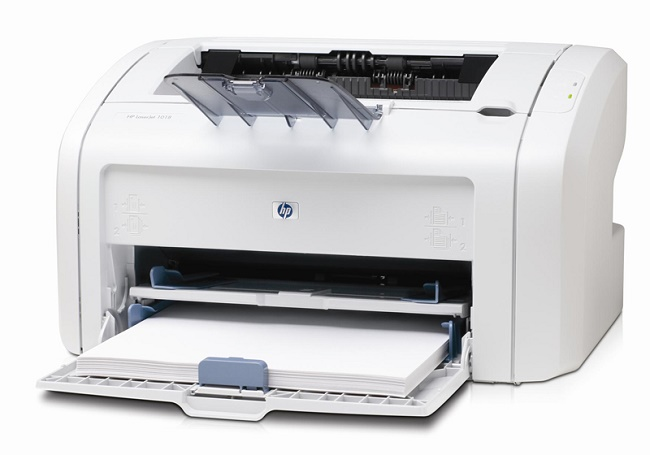 Бумага в принтере