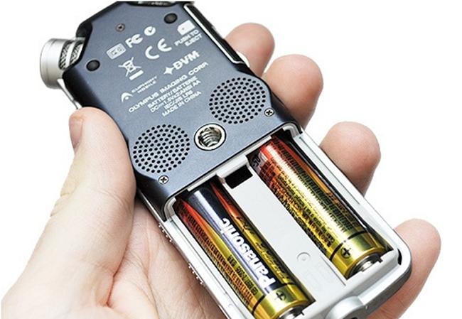 Диктофон на батарейках