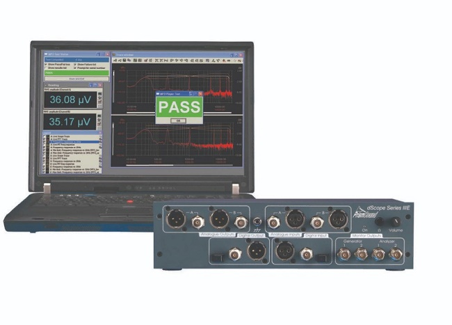 системы тестирования звука типа Prism_Sound_dSkope