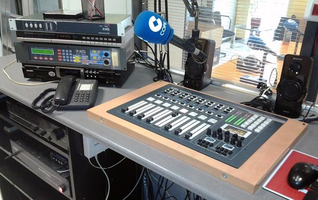 Микшер на радио