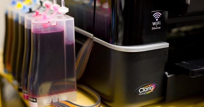 Цветной струйный принтер