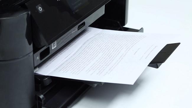 Печать лазерного принтера