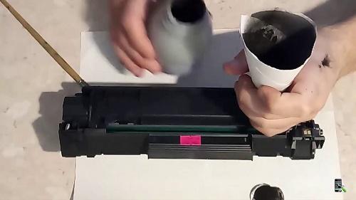 Бумажная леечка