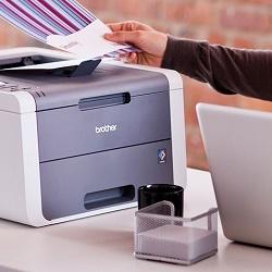 Подключение принтера к компьютеру и настройка печати