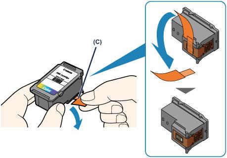 Защитная пленка на печатающей головке