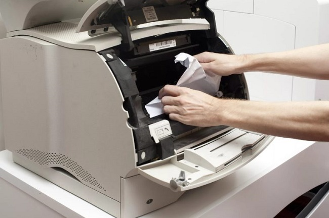 Принтер зажевал лист
