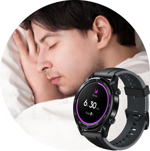 Часы с отслеживанием фаз сна