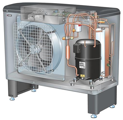 Сплит-система с тепловым насосом