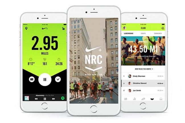 Приложение Nike Run Club