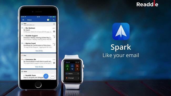 Spark - почта от Readdle