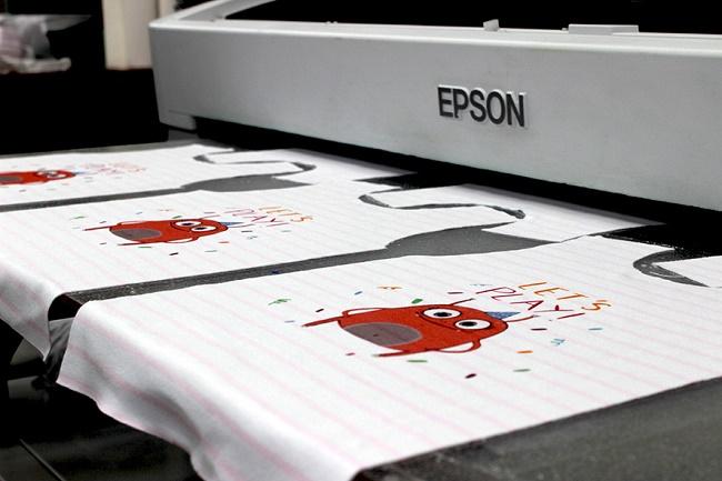 прямой метод сублимационной печати