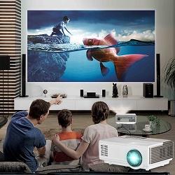 Проектор вместо телевизора — за и против