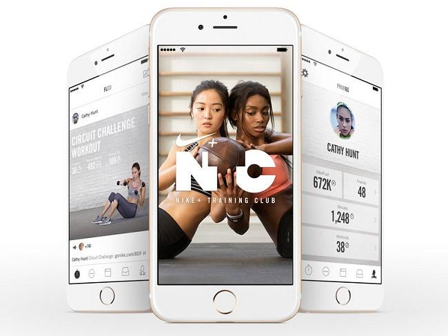 Приложение Nike Training Club