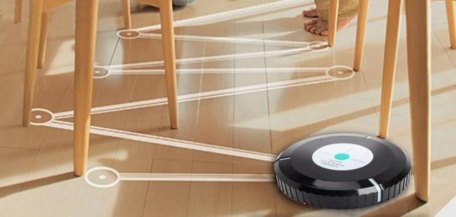 Траектория робота пылесоса