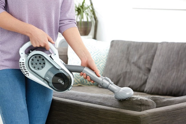 Ручной пылесос для мебели