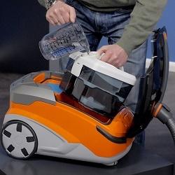 Особенности и лучшие модели моющих пылесосов с аквафильтром