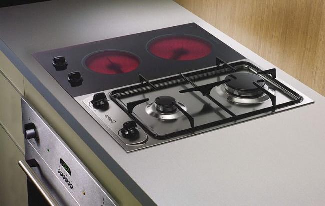 Электрическая или газовая плита