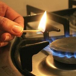 Температура газовой конфорки