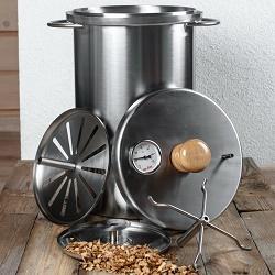 Коптильня для газовой плиты – как выбрать и сделать самому