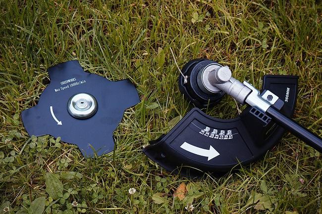 Триммер с диском