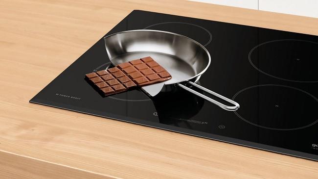 Шоколад на плите