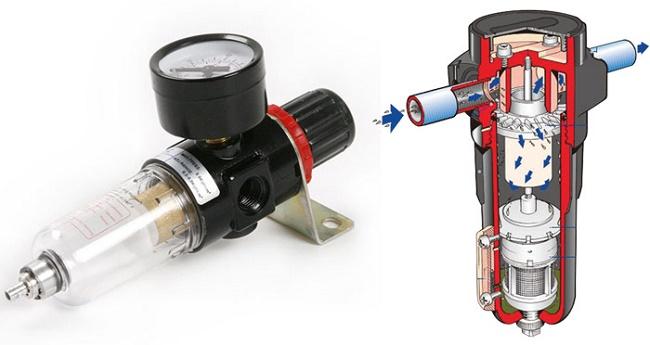 Фильтр влагомаслоотделитель фильтрация сжатого воздуха от компрессора