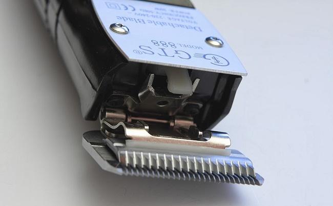 Снятие ножа с машинки