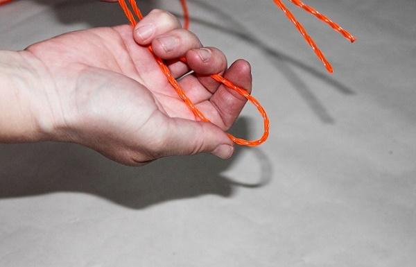 Как поменять катушку на триммере doffler