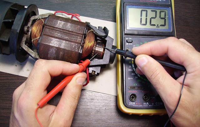 Проверка электромотора
