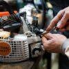 Как отремонтировать двигатель триммера