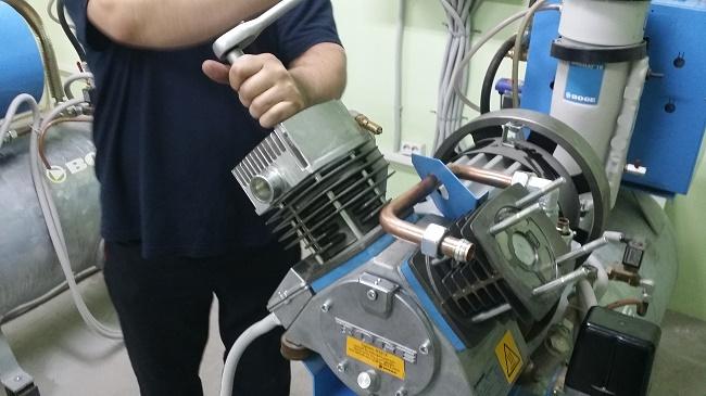 Обслуживание компрессора