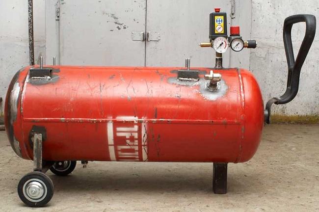 Газовый балон под ресивер