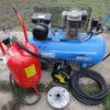 Как выбрать компрессор для пескоструйного оборудования
